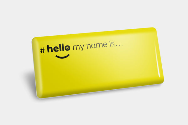 Name Badges - Blank NHS Name Badge
