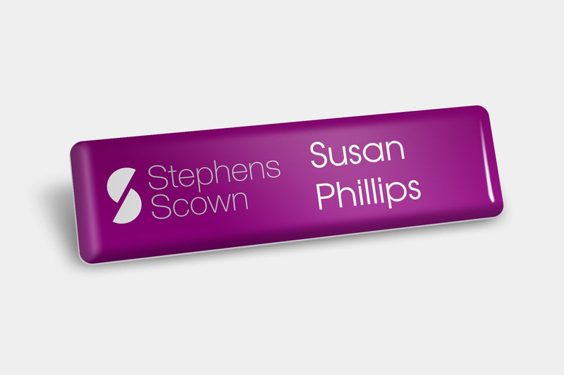 Name Badges - Domed Name Badges