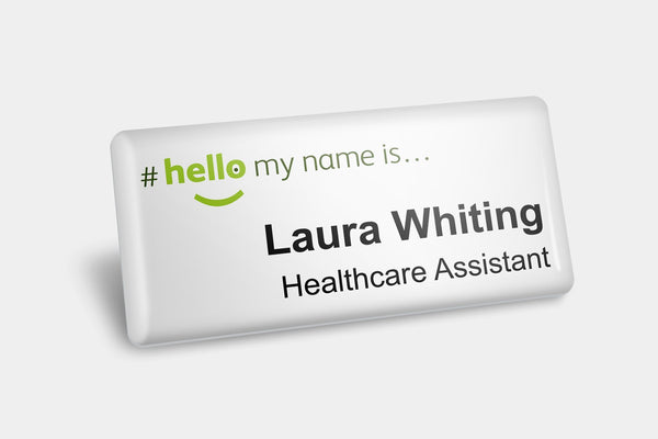 Name Badges - #hellomynameis Name Badges
