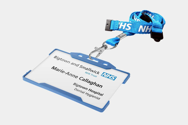 Name Badges - Lanyard Name Badges - NHS