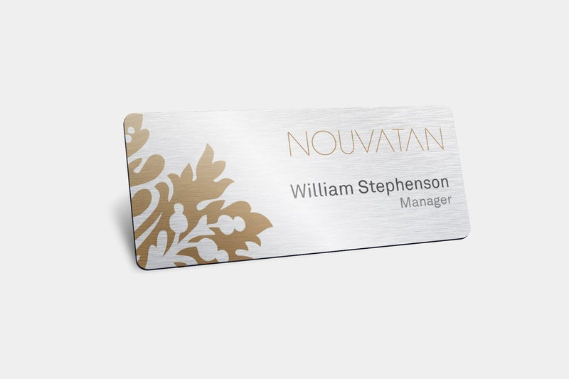 Name Badges - Metal Name Badges