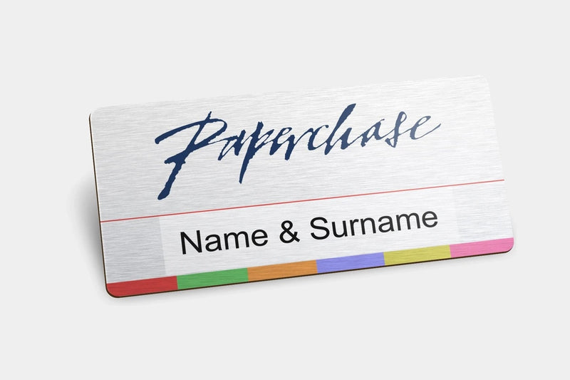Name Badges - Metal Reusable Name Badges