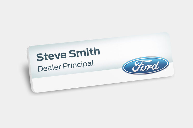 Name Badges - Plastic Name Badges