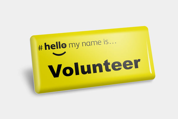 Name Badges - Volunteer NHS Name Badge
