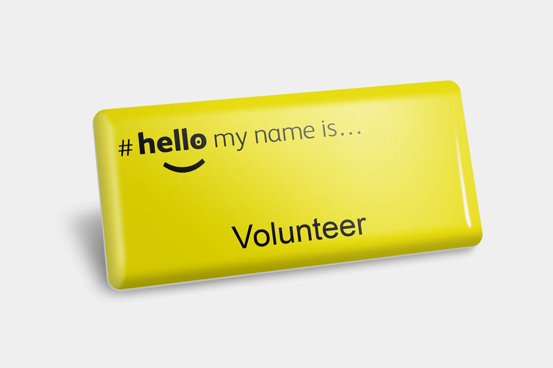 Name Badges - Volunteer Titled NHS Name Badges