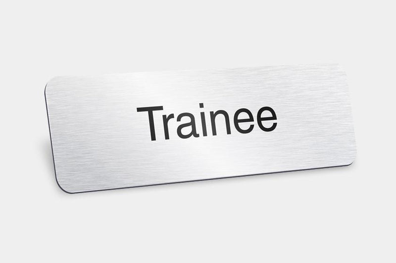 Printed Badges - Trainee Badges (Pack Of 5)