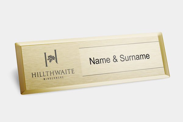 Reusable Name Badges - Exec Reusable Name Badges