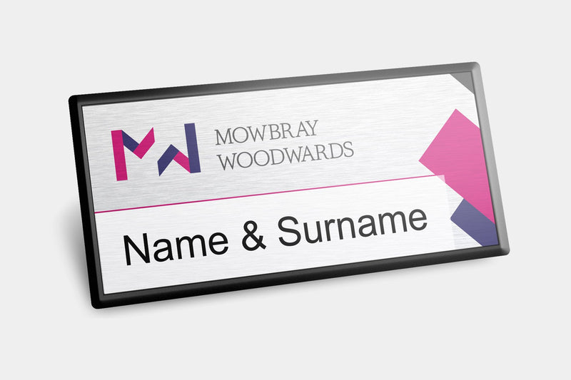 Reusable Name Badges - Framed Reusable Name Badges