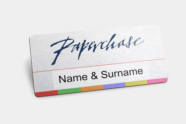 Reusable Name Badges - Package Deal - 100 X Reusable Name Badges