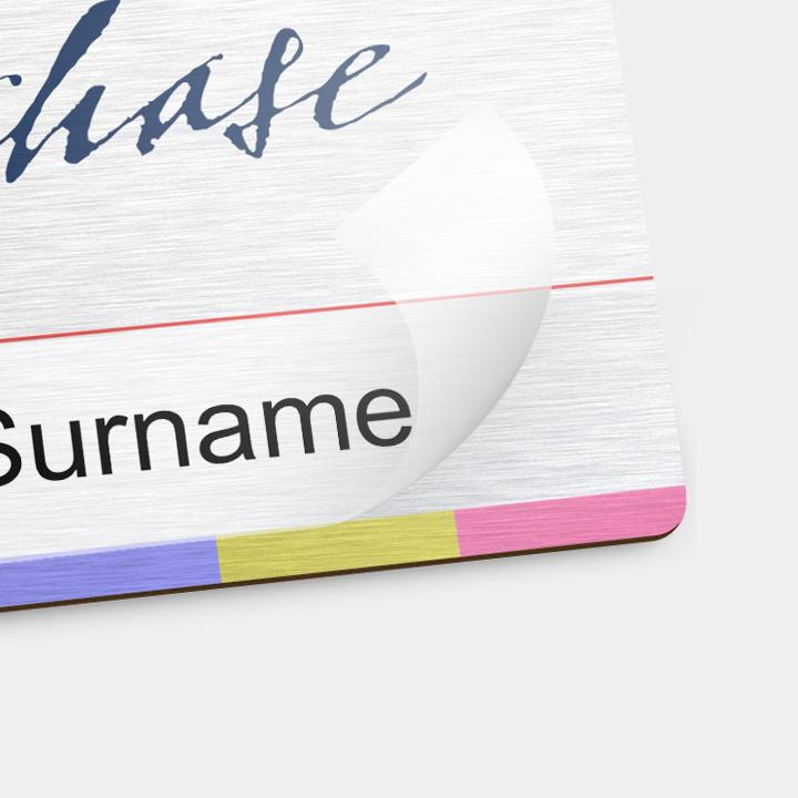 Reusable Name Badges - Package Deal - 250 X Reusable Name Badges