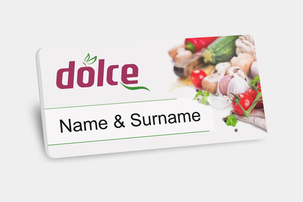Reusable Name Badges - Plastic Reusable Name Badges