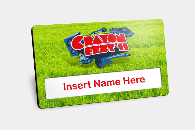 Reusable Name Badges - Window Reusable Name Badges