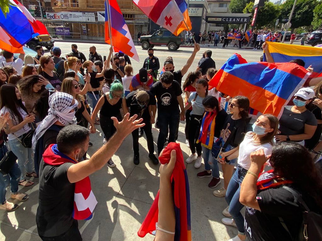 Armenian Protest by Angela Pailevanian