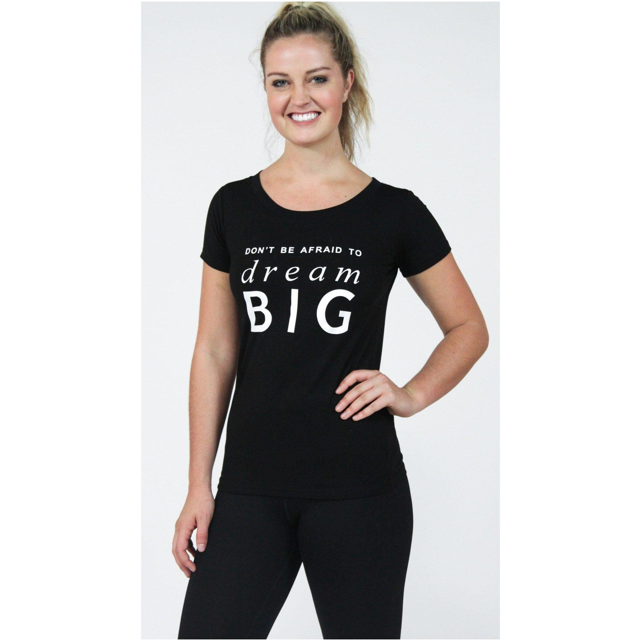 """Dream Big"" Tee - Brooke Taylor Active"
