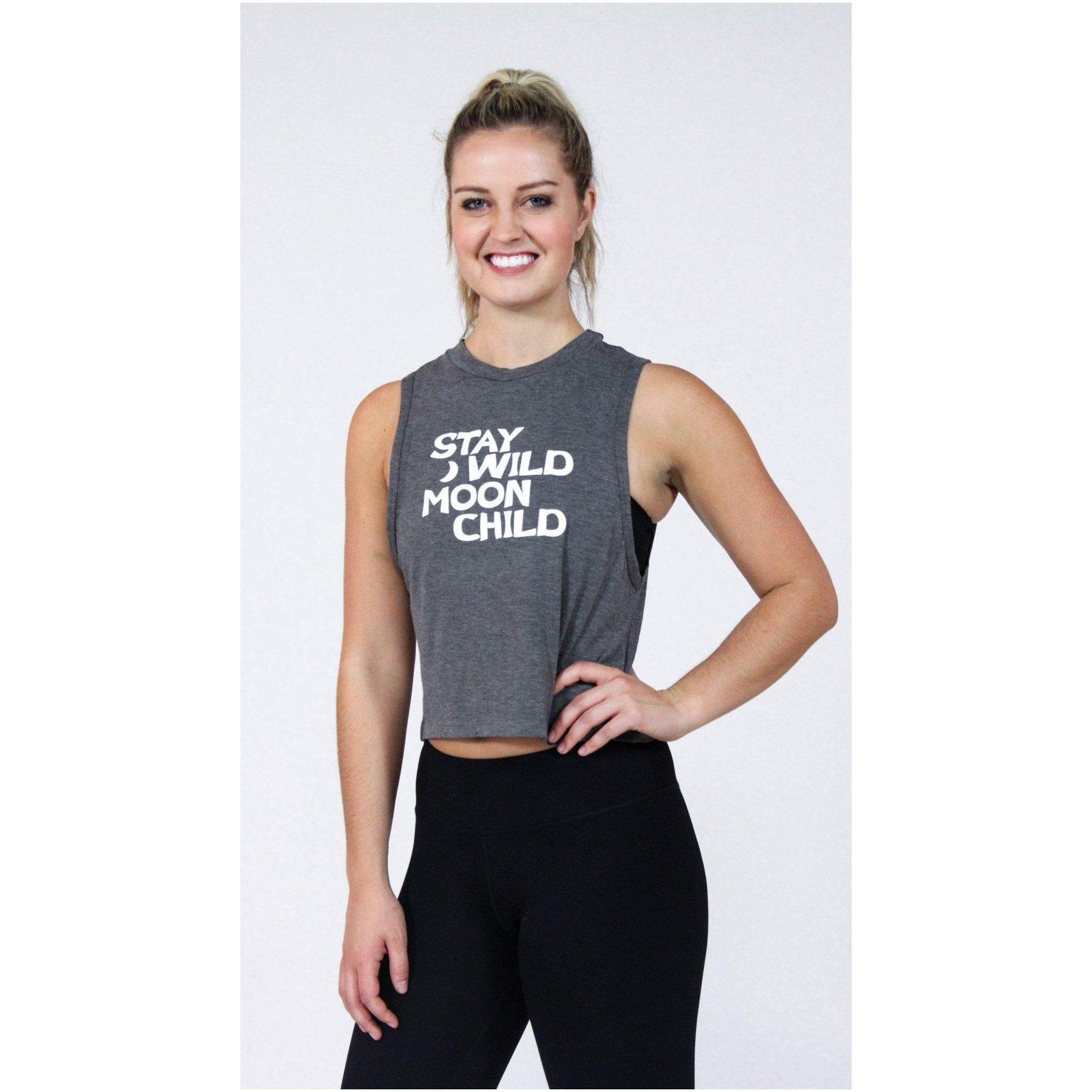 """Stay wild"" Tee - Brooke Taylor Active"