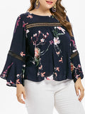 Plus Size Women's Clothing - Plus size blouse