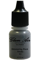 Glam Air Airbrush Shimmering Black Smoke Eye Shadow Water-based Makeup E2