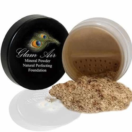 Glam Air Mineral Foundation, Natural Perfection Powder Foundation Compare with Bare Minerals and MAC Mineralize (Fair)
