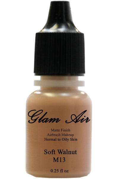 Soft Walnut Water Based Airbrush Matte foundation 0.25oz Bottle M13