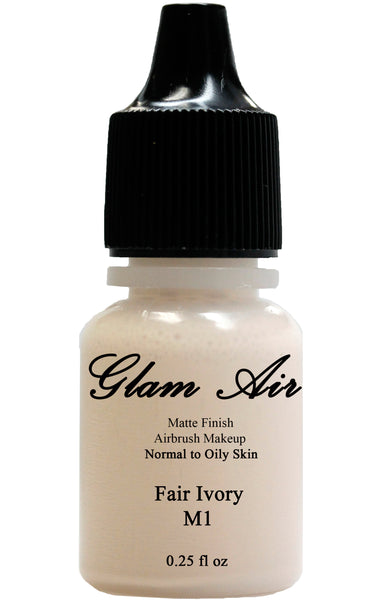 Glam Air Airbrush M1 Fair Ivory Matte Foundation Water-based Makeup