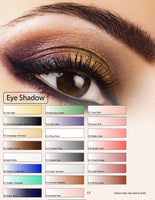 Glam Air Airbrush Bold White Eye Shadow Water-based Makeup E5