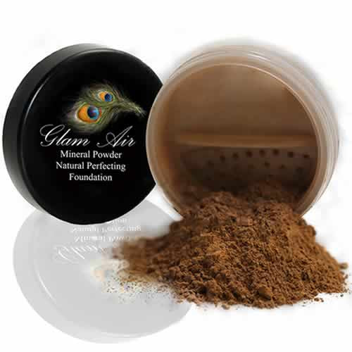Glam Air Mineral Foundation, Natural Perfection Powder Foundation Compare with Bare Minerals and MAC Mineralize (Medium Dark)