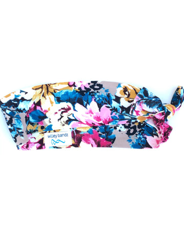 Floral on Leopard 2-inch headband