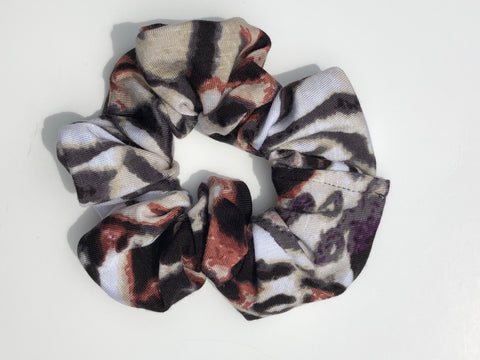 Safari Animal Print Scrunchie