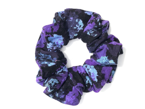 Purple and Blue Scrunchie