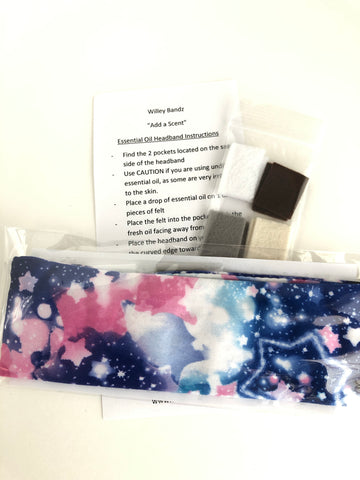 """Add a Scent"" Galaxy Headband"