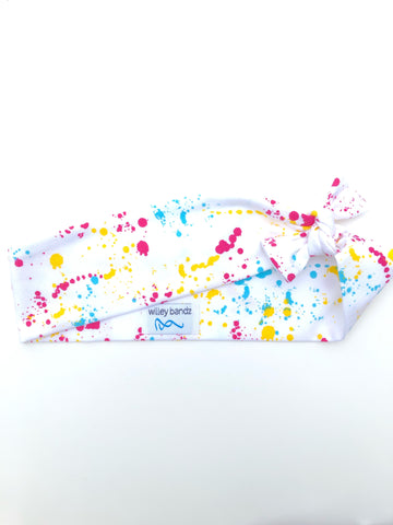 Paint Splatter 2-inch headband