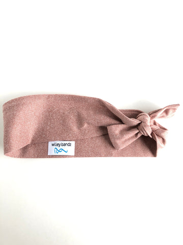 Heathered Rose 2-inch headband