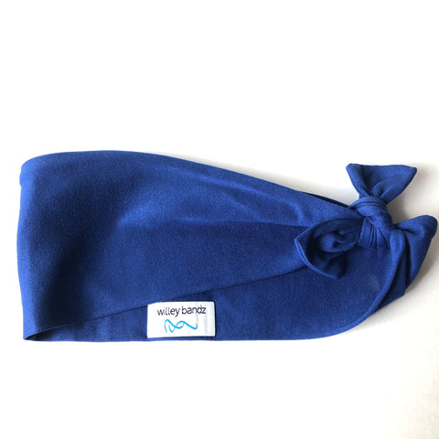 Royal Blue 3-inch headband