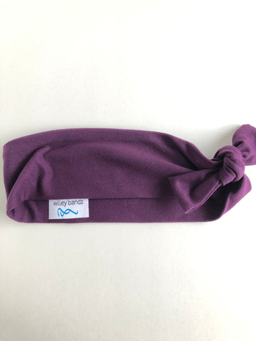 Dark Plum 2-inch headband