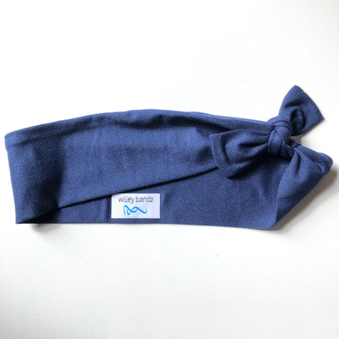 Navy Blue 2-inch headband