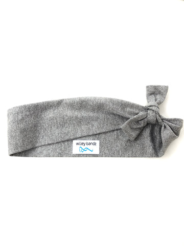 Heathered Gray 2-inch headband