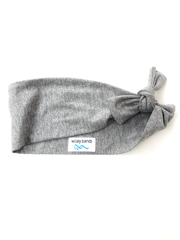 "Heathered Gray 3"" Headband"
