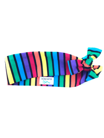 Rainbow Striped 2-inch headband