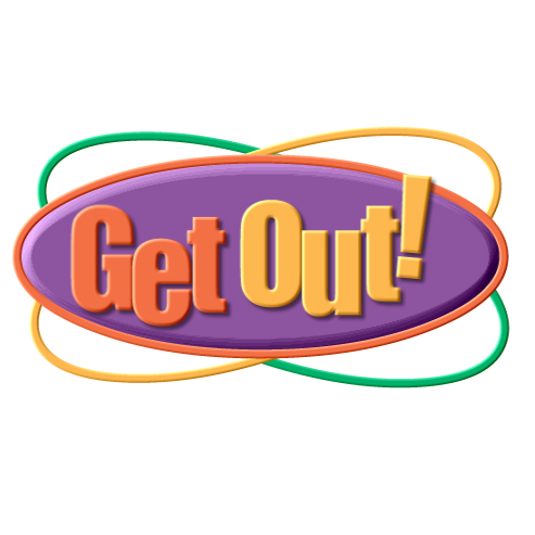 Get Out! Logo