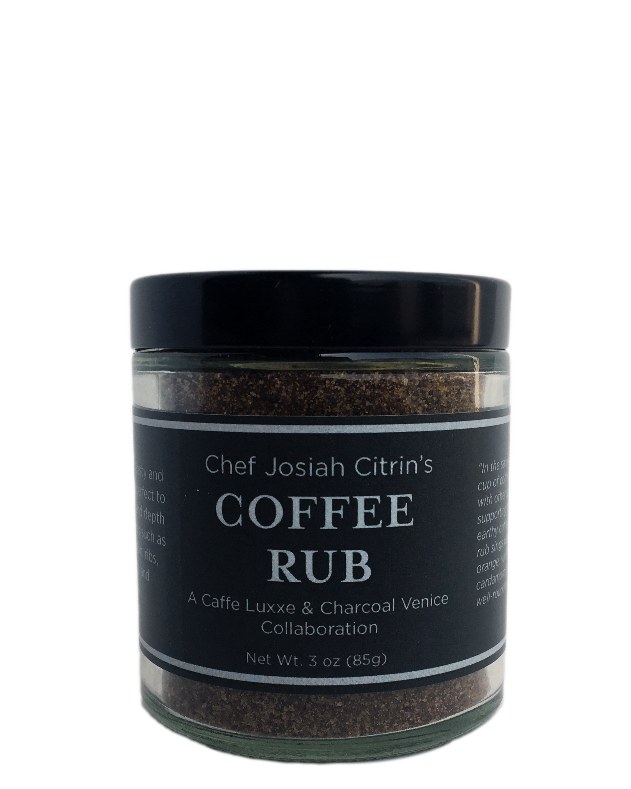 Chef Josiah Citrin Coffee Rub