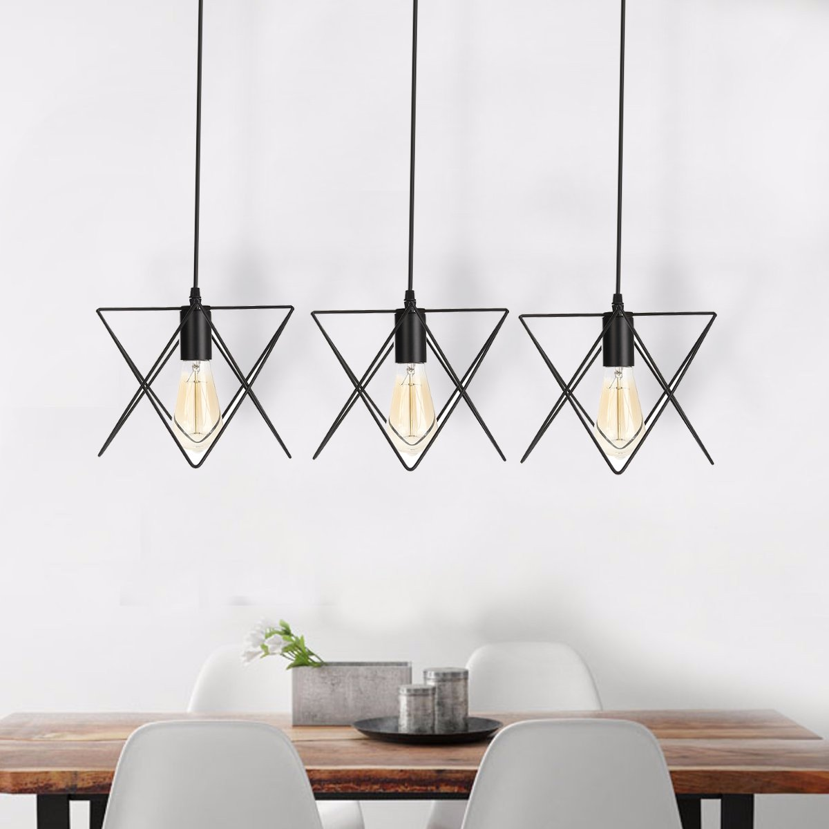 Beautiful-Ceiling-Light-Pendant-Cage-Metal-Iron-Hanging-Industrial-Chandelier