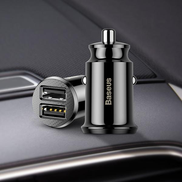 Mini In Car Charger | Fast Mini Double USB Car Charger |