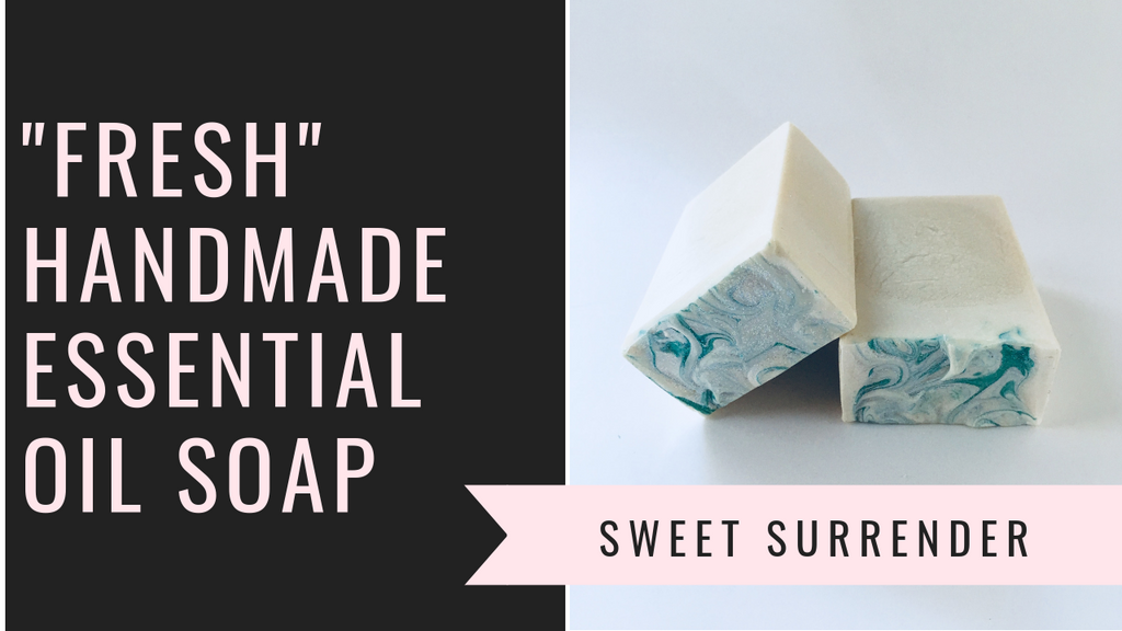 "The Making and Cutting of ""Fresh"" Handmade Essential Oil Soap"