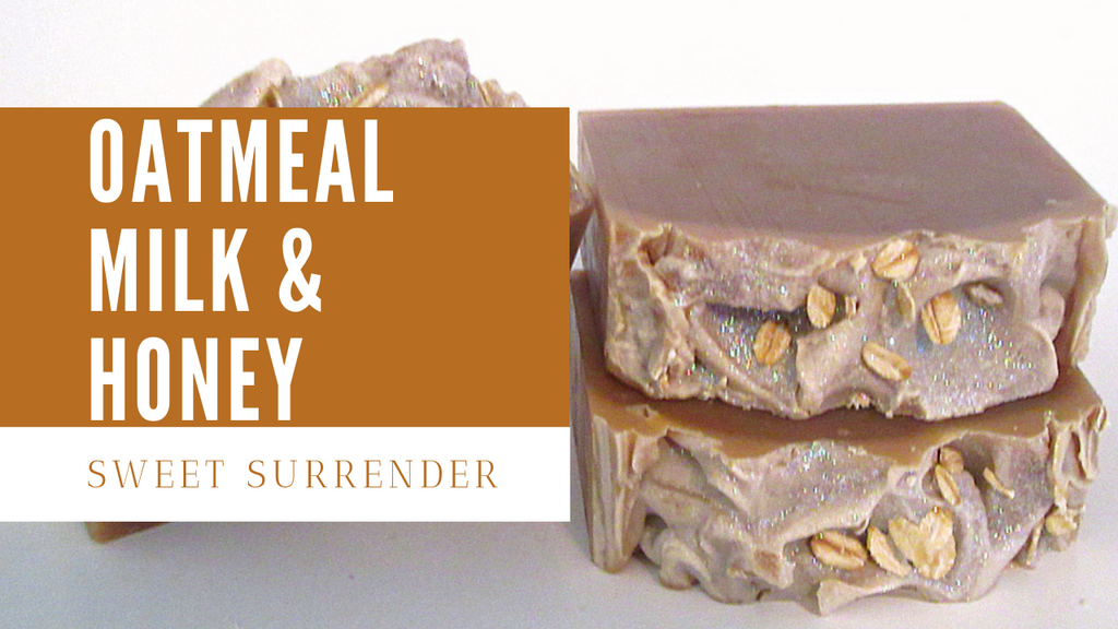 The Making and Cutting of Oatmeal, Milk & Honey Handmade Soap