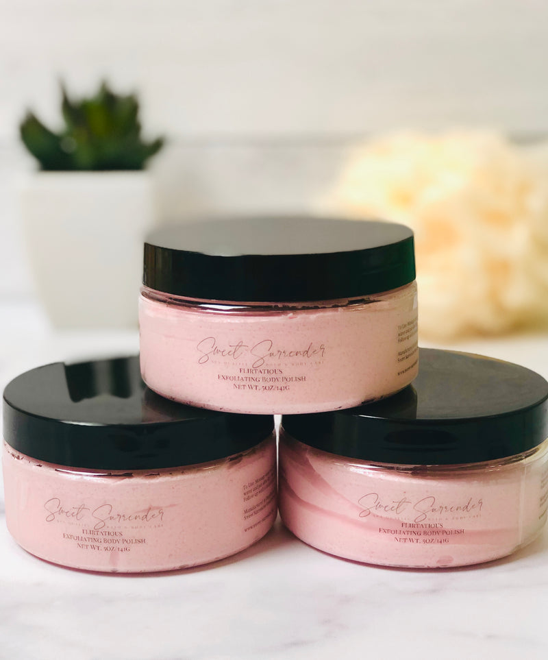 Flirtatious Exfoliating Body Polish