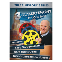 Load image into Gallery viewer, 3 Classic Tulsa Shows on 1 DVD