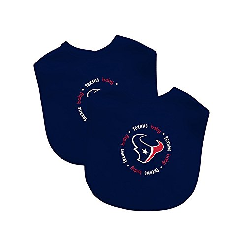 Baby Fanatic Team Color Bibs, Houston Texans,