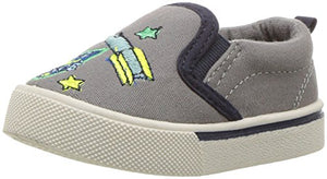 OshKosh B'Gosh Kids' B'Gosh Spaceman Boy's Embroidered Slip-On Shoe
