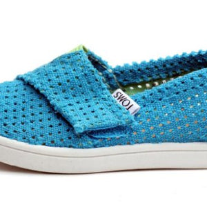 Toms Kids Tiny Two-Tone Freetown Classics Blue