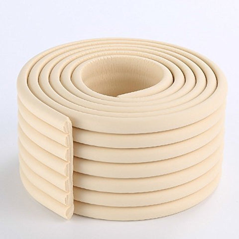 2 Meters (6.5 Ft) Long 8 CM Wide Table Wall Edge Protectors Foam Baby Safety Bumper Guard